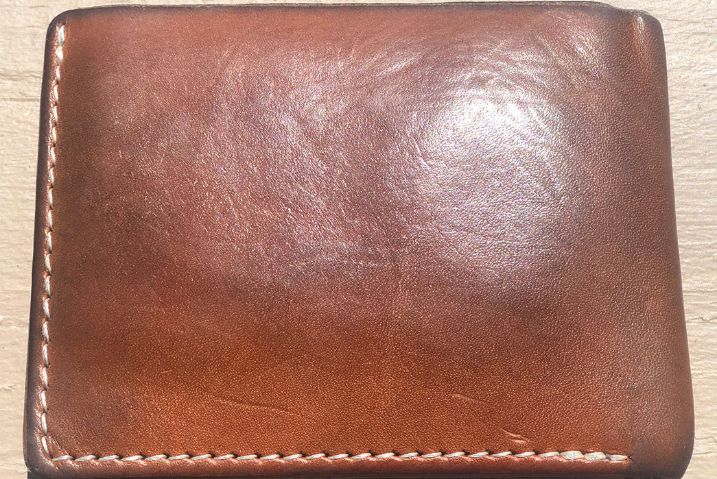 Fade of the Day - Stock & Barrel No. 55 Wallet (5 Months) closed