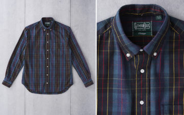 Gitman-Vintage-x-Division-Road-Shirts-blue-black-front-and-collar