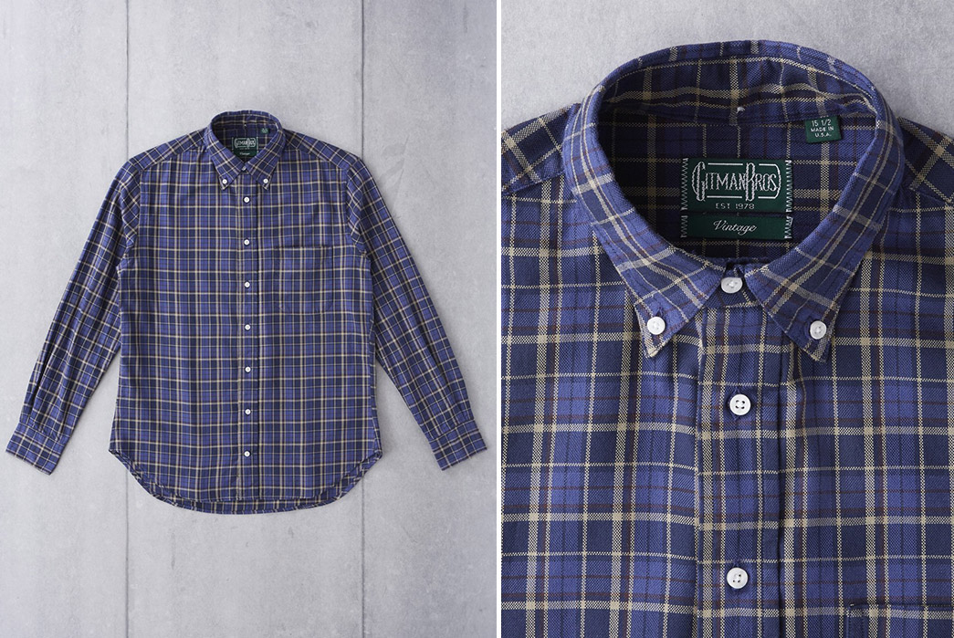 Gitman-Vintage-x-Division-Road-Shirts-blue-front-and-collar