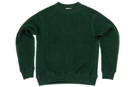 Jackman-Waffle-Midneck-Sweaters-green
