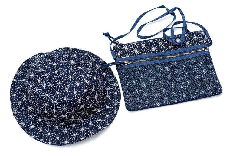 Japan-Blue-Indigo-Sashiko-Hat-and-Tool-Bag