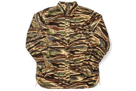 Jelado-CT41140-Mimic-Shirt-Tiger-Duck-Camo-front