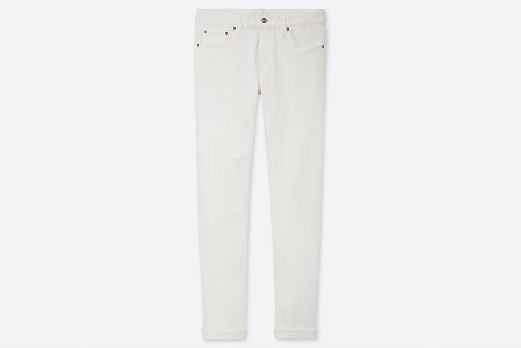 Light-Hue-Selvedge-Jeans---Five-Plus-One-3)-Uniqlo-Stretch-Selvedge