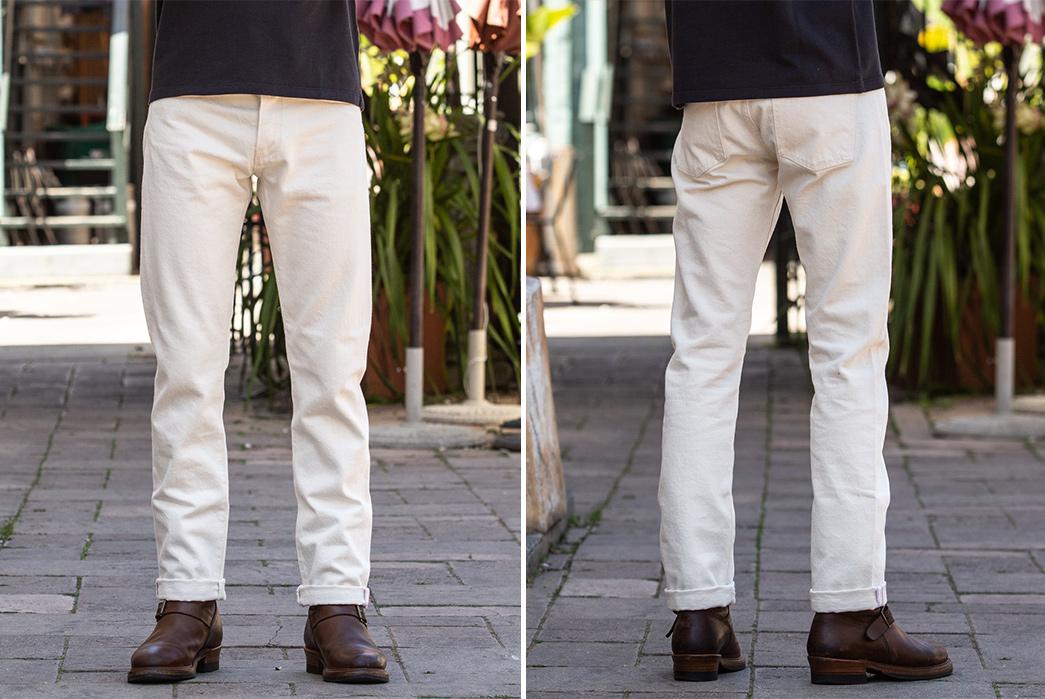 Light-Hue-Selvedge-Jeans---Five-Plus-One-4)-C.O.F-Studio-M2-Ecru