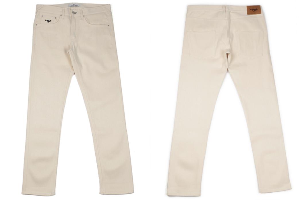 Light-Hue-Selvedge-Jeans---Five-Plus-One-5)-El-Solitario-ES-1-Tapered-Ecru