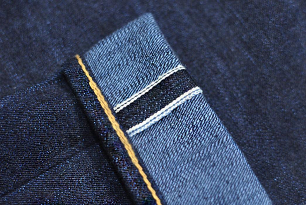 Sage-Celebrates-7-Years-with-18oz.-of-Unsanforized-Tinted-Denim-blue-leg-selvedge
