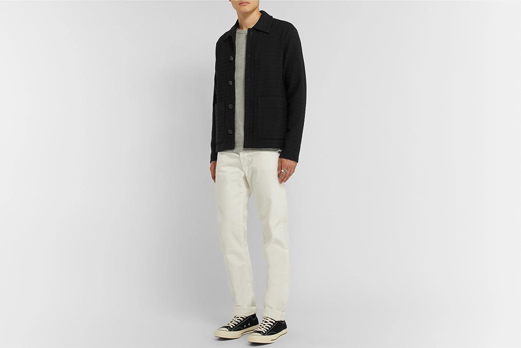 Séfr-Nico-Overshirts-black-model-front