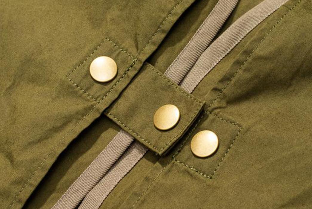 Soundman-Bernard-163M-954O-Vest-green-buttons