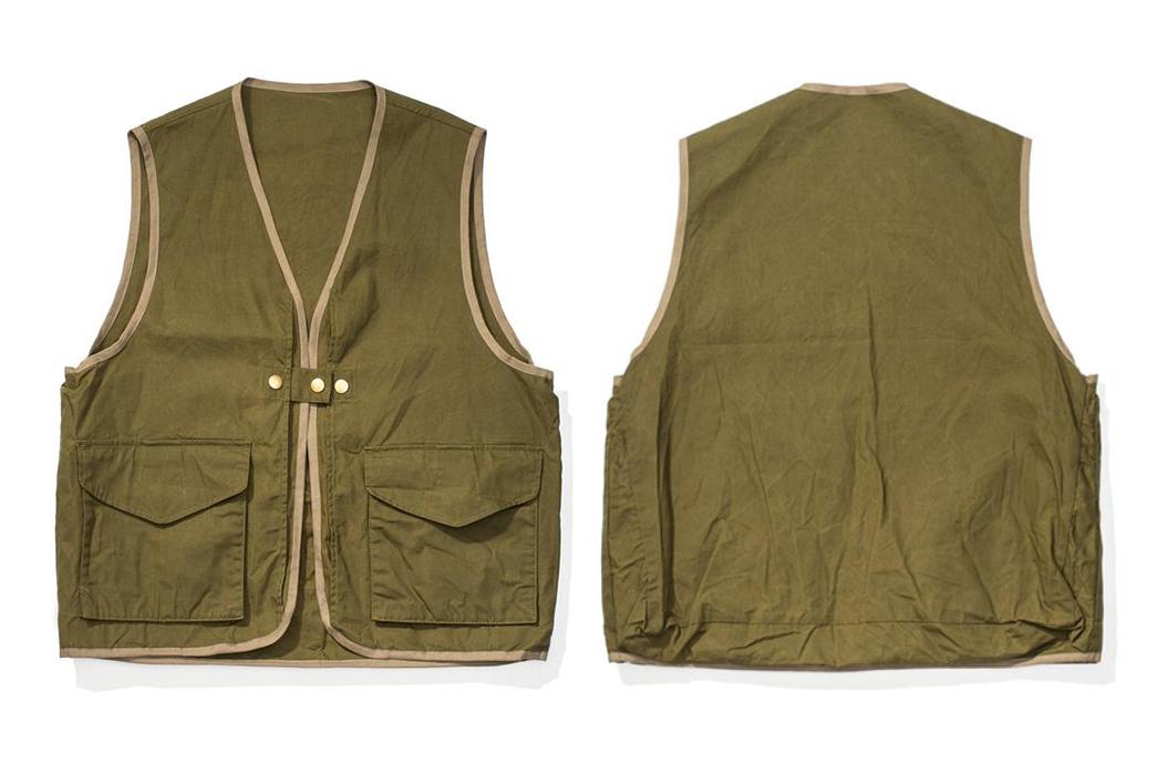 Soundman-Bernard-163M-954O-Vest-green-front-back