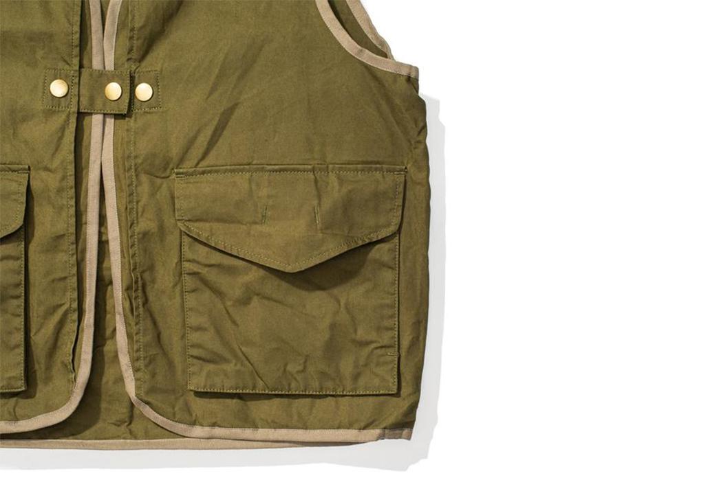 Soundman-Bernard-163M-954O-Vest-green-front-left-pocket