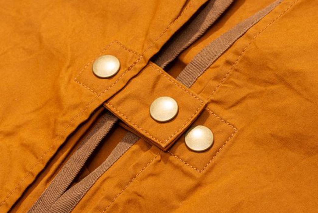 Soundman-Bernard-163M-954O-Vest-orange-buttons