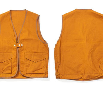 Soundman-Bernard-163M-954O-Vest-orange-front-back