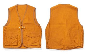 Soundman-Bernard-163M-954O-Vest-orange-front-back