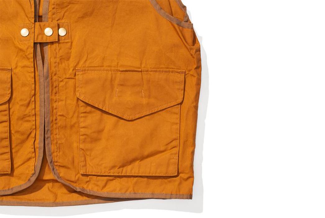 Soundman-Bernard-163M-954O-Vest-orange-front-left-pocket