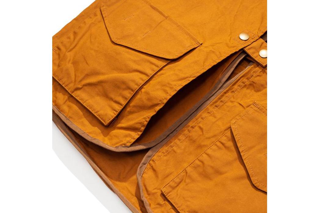 Soundman-Bernard-163M-954O-Vest-orange-front-pockets