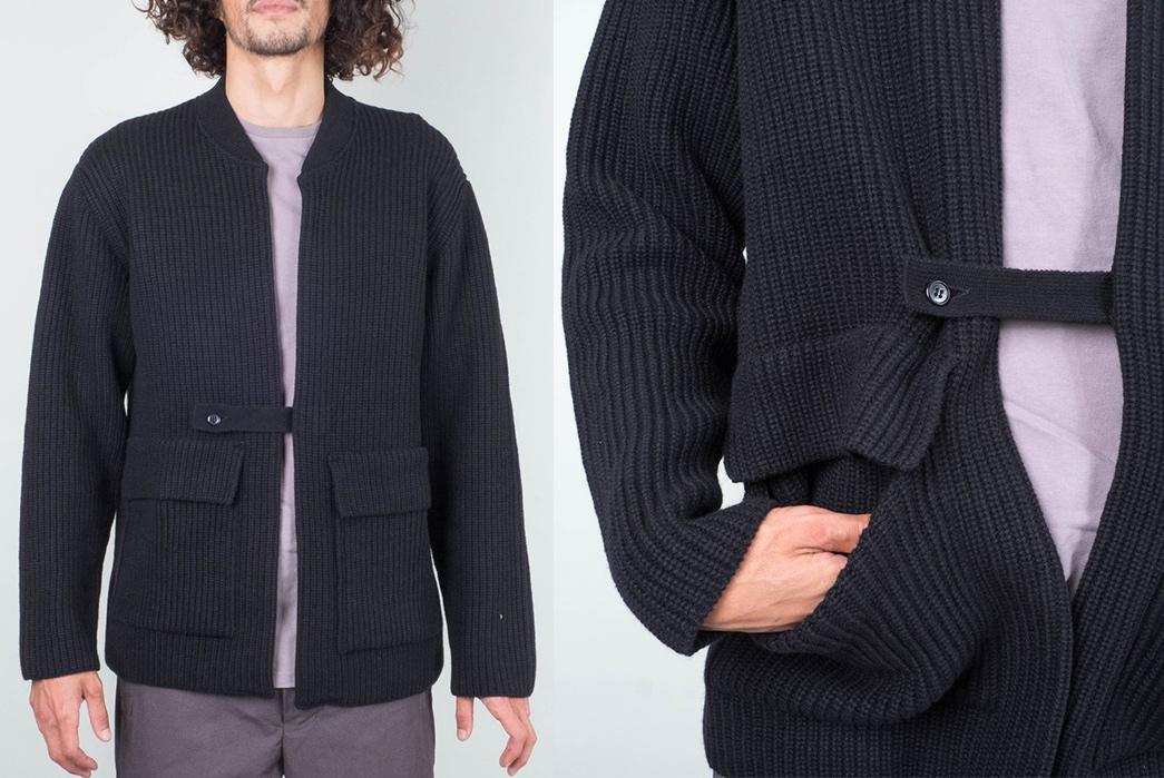 Still-By-Hand-Knit-Blouson-model-fronts