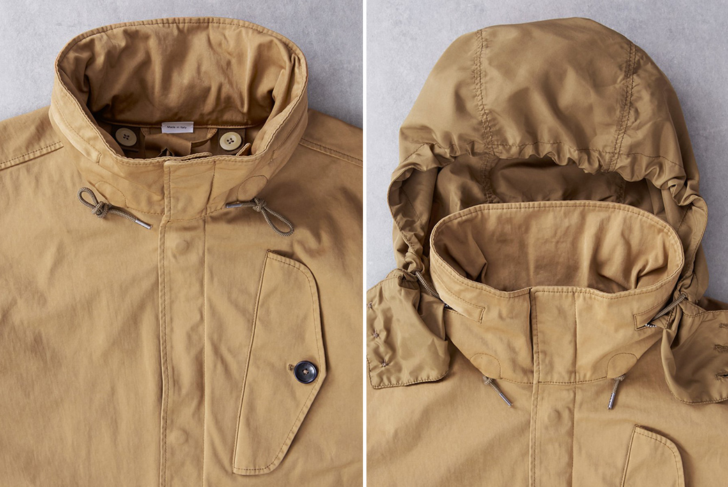 Ten-C-OJJ-Marshall-Jacket-front-collar-and-hood