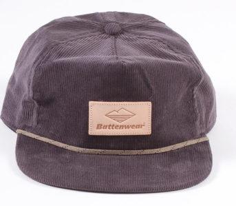 Battenwear-Corduroy-Club-Cap-front