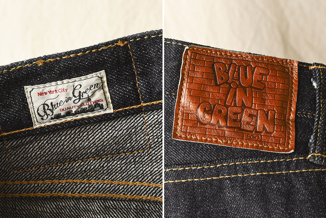 Blue-In-Green-Just-Introduced-Their-In-House-Jean-and-It's-Good-brand-inside-and-back-leather-patch