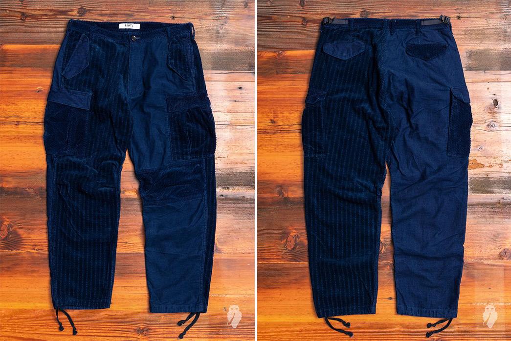 Cargo-Pants---Five-Plus-One-Plus-One---FDMTL-Corduroy-Cargo