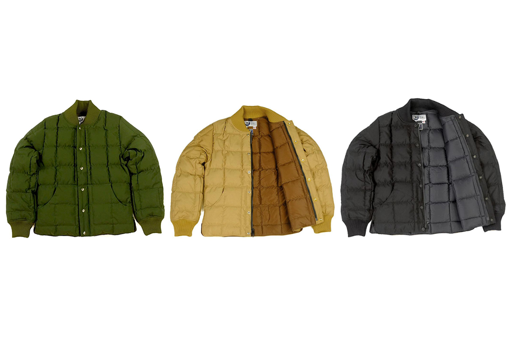 Crescent-Down-Works-and-Freeman-Seattle-Square-Up-To-Winter-With-Their-Collaborative-Square-Quilt-Down-Jacket-fronts-green-yellow-black
