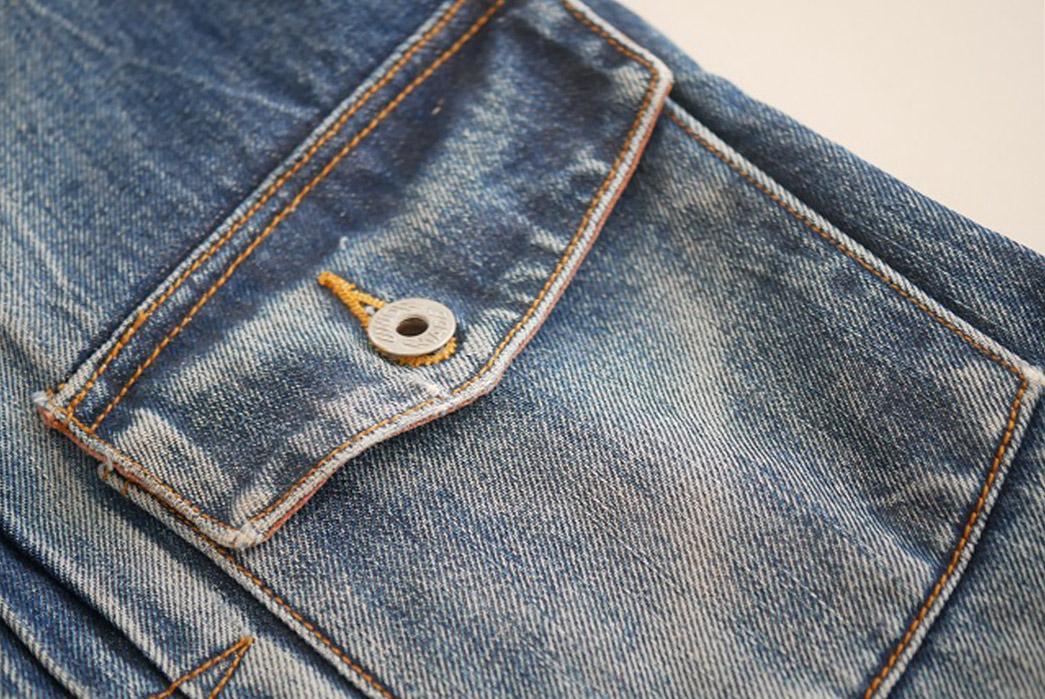 Fade Friday - Denim Error Workwear Jacket Lot 1 (3 years, 1 wash, Unknown Soaks) pocket
