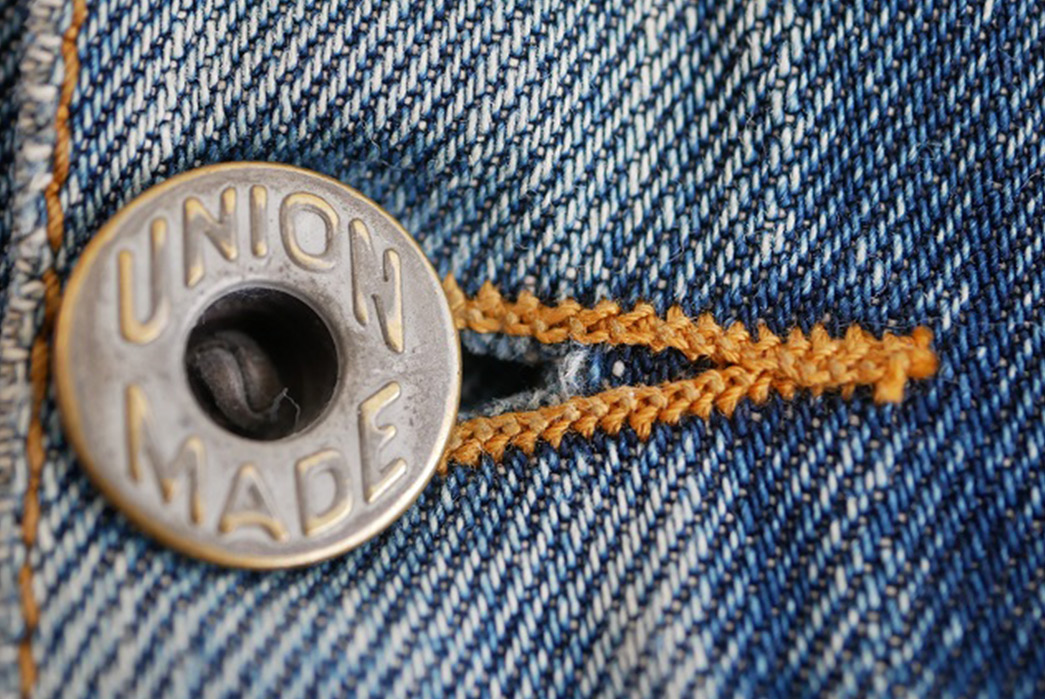 Fade Friday - Denim Error Workwear Jacket Lot 1 (3 years, 1 wash, Unknown Soaks) silver-button