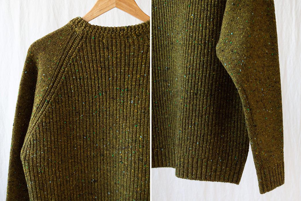 Fujito-Raglan-(Sweaters)-Are-My-Bag,-Man-green-detailed