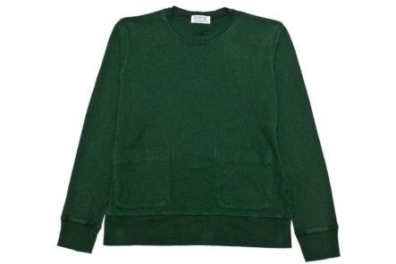Velva-Sheen-Heavy-Oz-Crewneck-Sweats-green-front