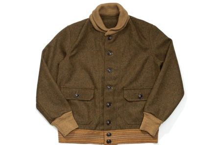 Warehouse & Co. Take Flight With a Wool A-1 Jacket front