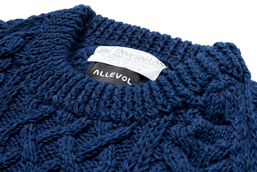 Allevol-&-Inverallan-Come-Together-Once-More-For-an-Indigo-Cable-Knit-front-collar