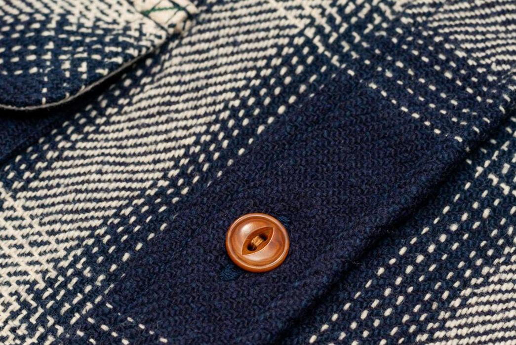 Burgus-Plus-Heavy-Flannel-Work-Shirt-Navy-Check-button
