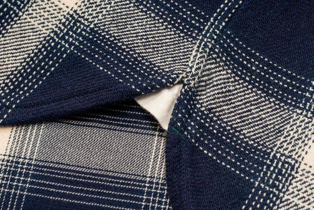 Burgus-Plus-Heavy-Flannel-Work-Shirt-Navy-Check-selvedge