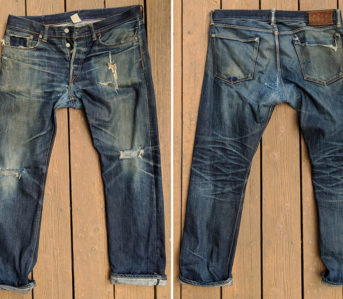 Fade-Friday---RRL-Straight-Fit-Selvedge-(3.5-Years,-1-Wash,-3-Soaks)-front-back