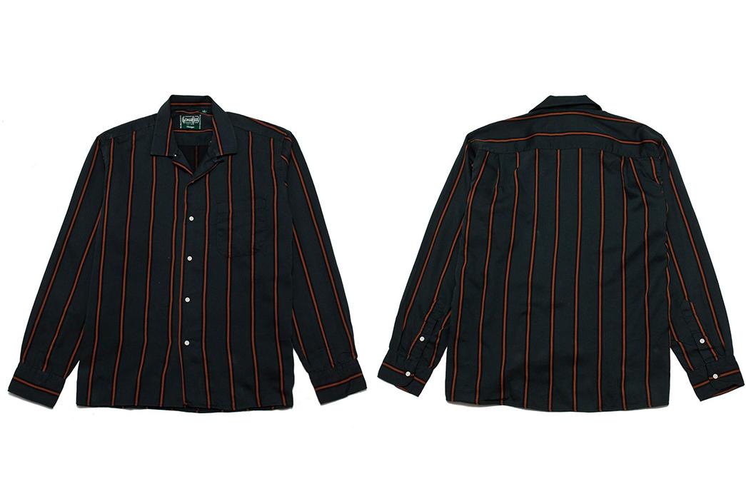 Gitman-Bros.-Vintage-Green-Satin-Regimental-Stripe-Camp-Collar-Shirt-front-back