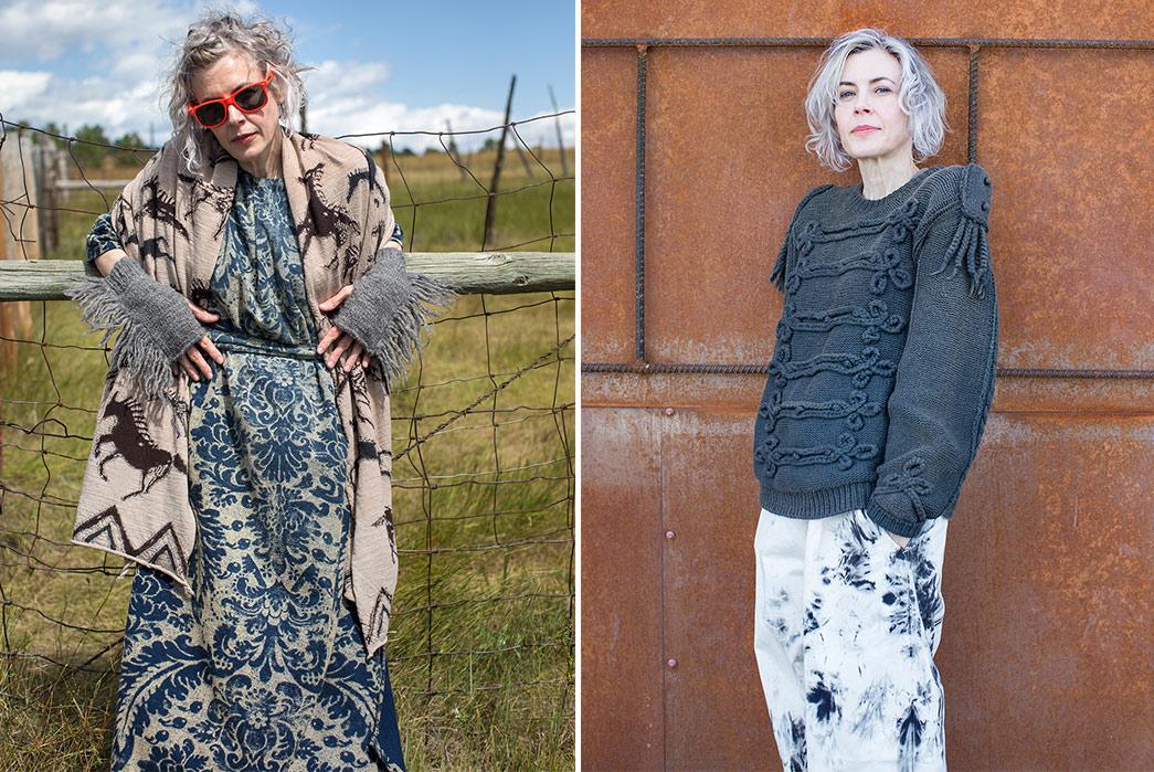 Kapital's-F-W-2019-Lookbook-Proves-They're-Still-Krazy-blond-female
