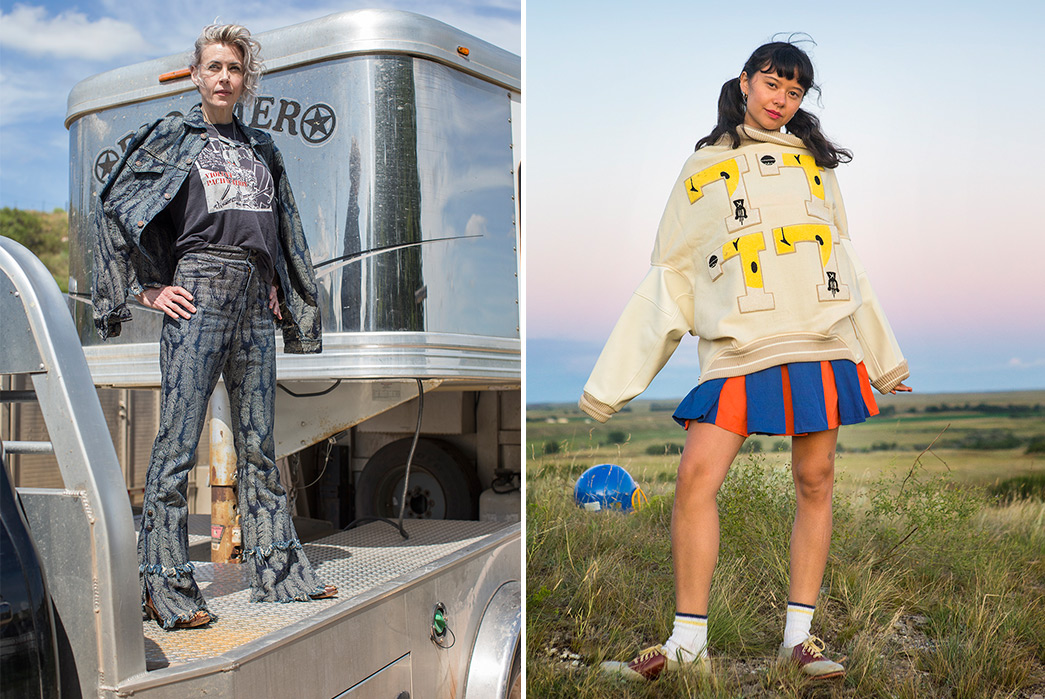 Kapital's-F-W-2019-Lookbook-Proves-They're-Still-Krazy-girl-on-truck-and-gras