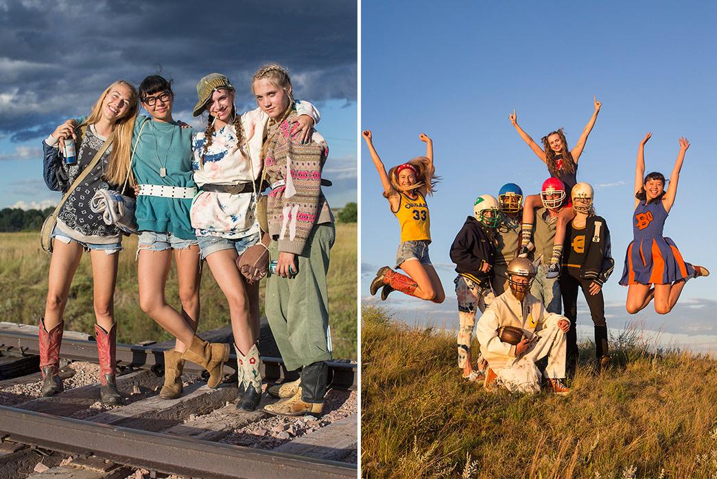 Kapital's-F-W-2019-Lookbook-Proves-They're-Still-Krazy-girls-on-railroad-andgirls-jumping