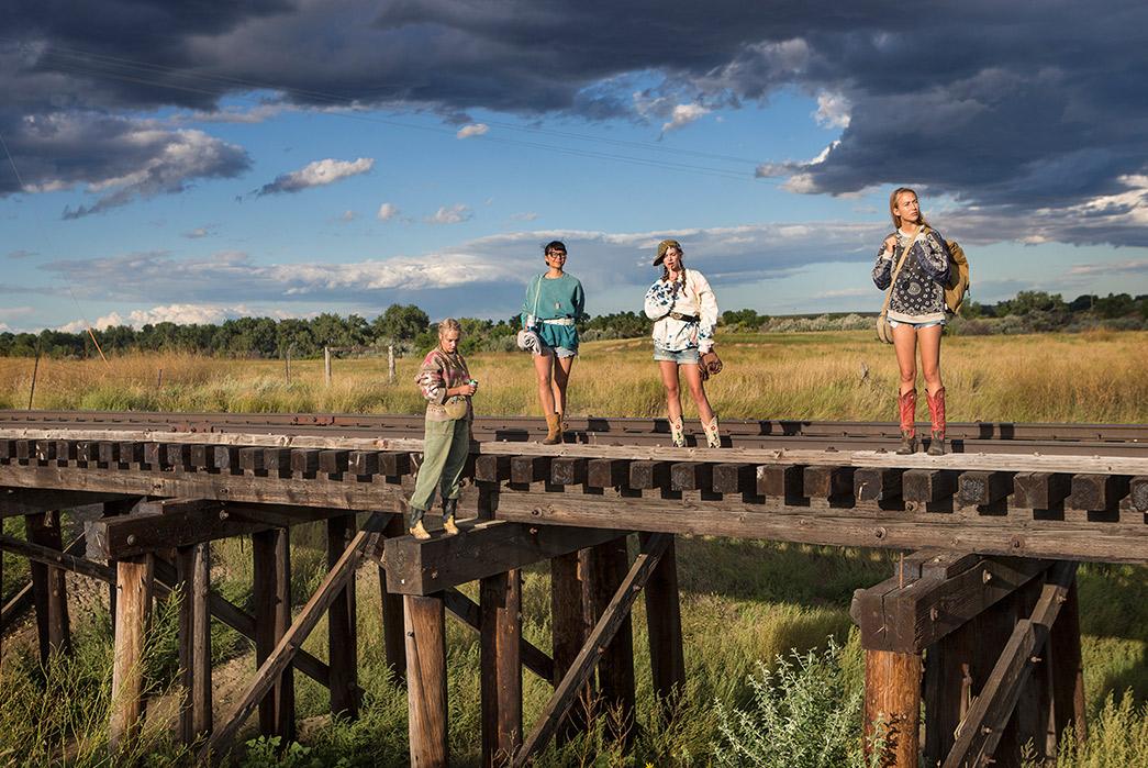 Kapital's-F-W-2019-Lookbook-Proves-They're-Still-Krazy-girls-on-railroad