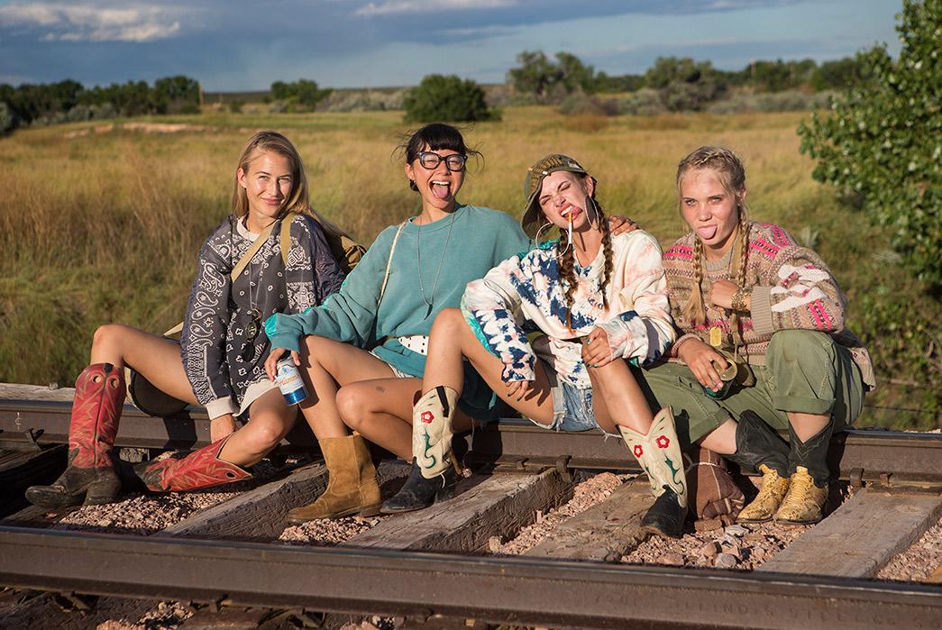 Kapital's-F-W-2019-Lookbook-Proves-They're-Still-Krazy-girls-sitting-on-railroad