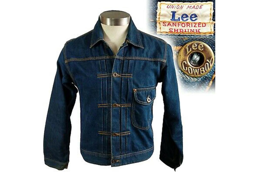 Lee-Storm-Rider-Denim-Jackets---The-Complete-Vintage-Guide-Lee-101J.-Image-via-Ebay.