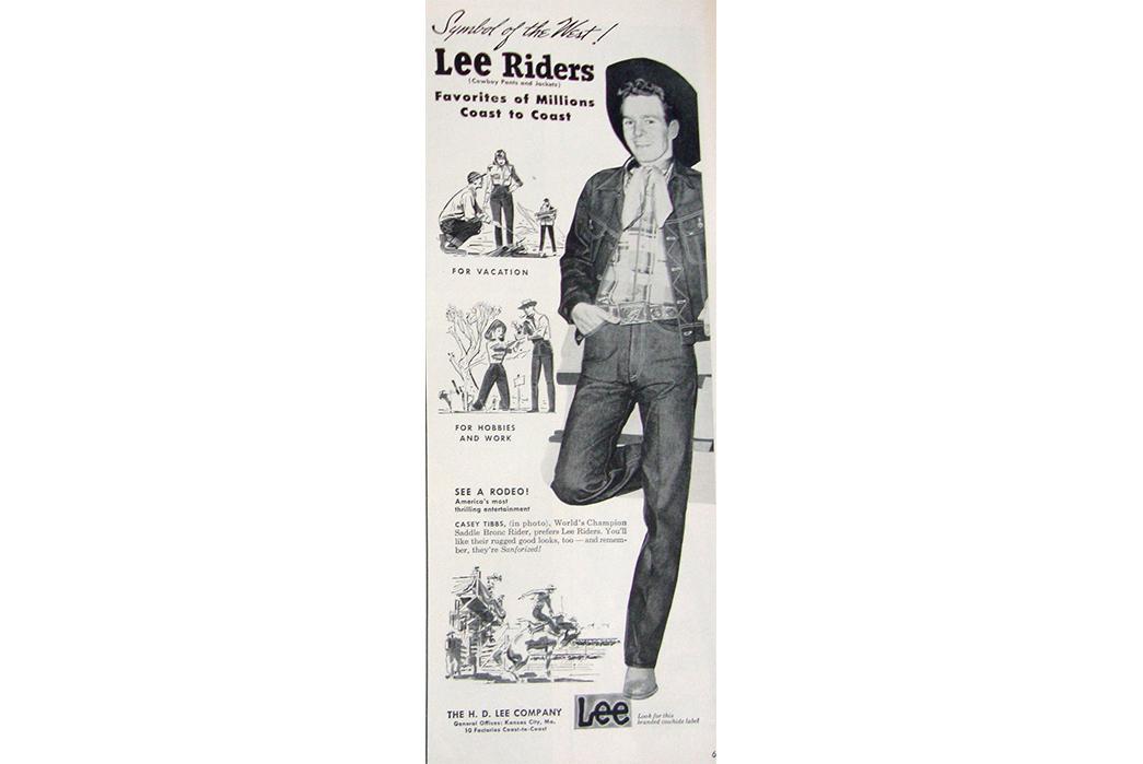 Lee-Storm-Rider-Denim-Jackets---The-Complete-Vintage-Guide-Lee-Rider-ad.-Image-via-Pinterest.