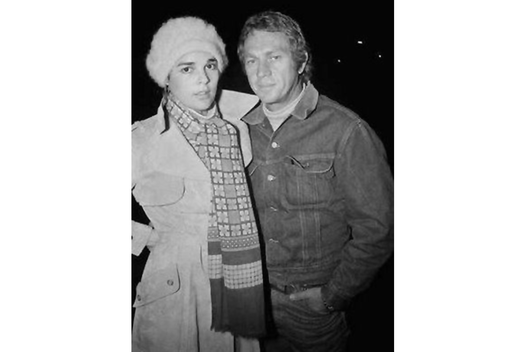 Lee-Storm-Rider-Denim-Jackets---The-Complete-Vintage-Guide-Steve-Mcqueen-and-Ali-McGraw.-Image-via-Pinterest.