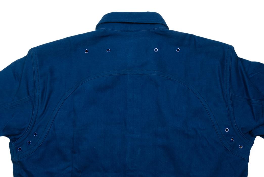 Mister Freedom Trailblazer Shirt back top