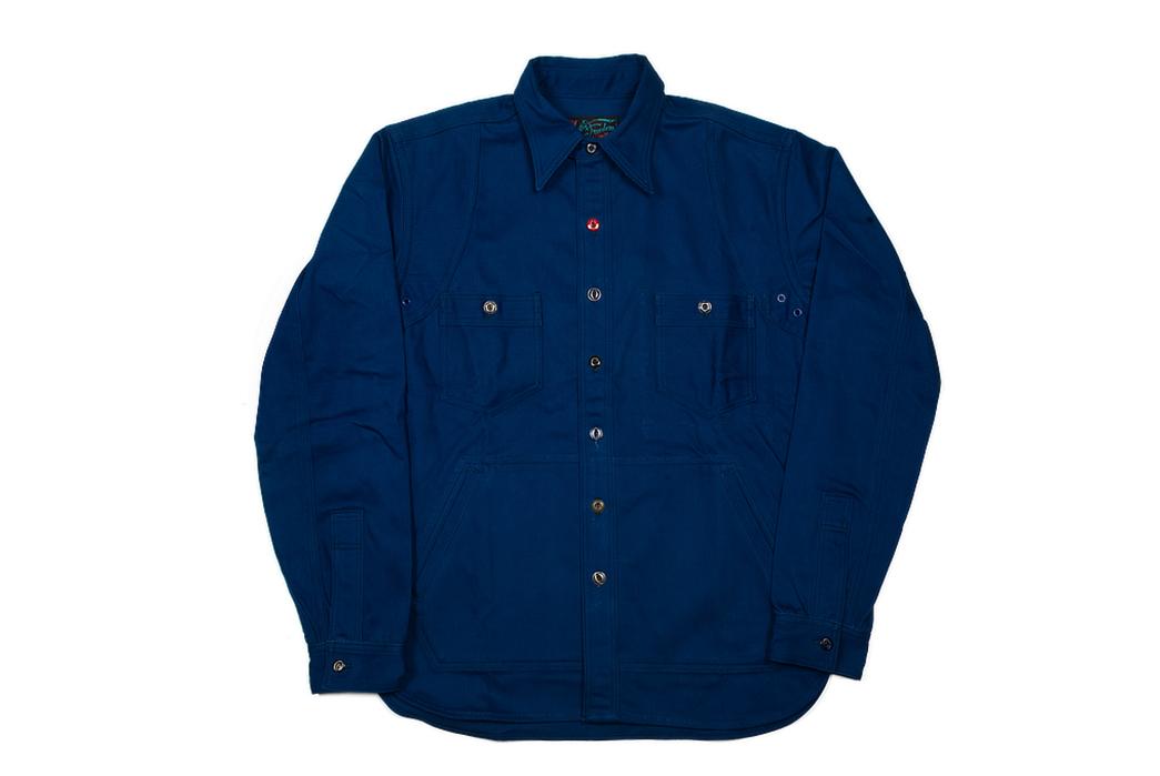 Mister Freedom Trailblazer Shirt front all
