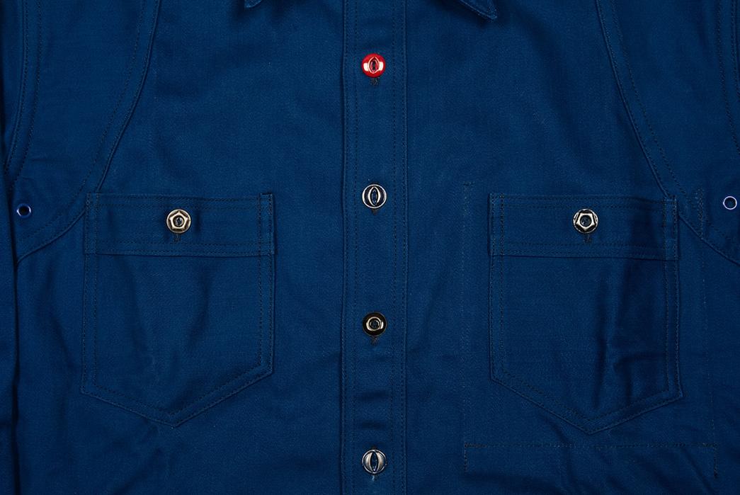 Mister Freedom Trailblazer Shirt pockets