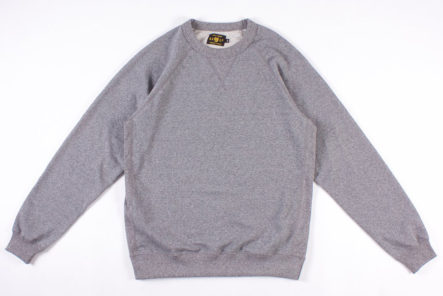 Season-Your-Wardrobe-With-North-American-Quality-Purveyor's-Salt-&-Pepper-Rundle-Raglan-Crewneck-front