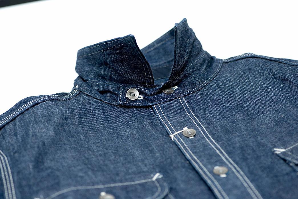 Samurai-12-oz.-Denim-Early-Work-Shirt-front-collar