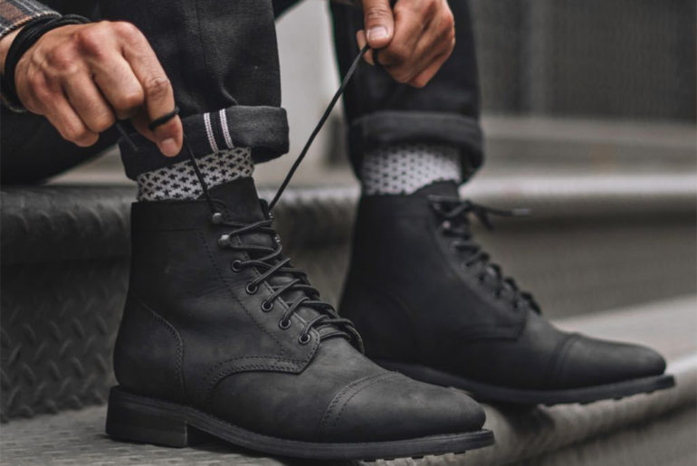 Thursday-Boot-Co.-Is-Back-In-Matte-Black-With-a-Stealthy-Edition-Of-The-Captain-Boot-model-pair-side