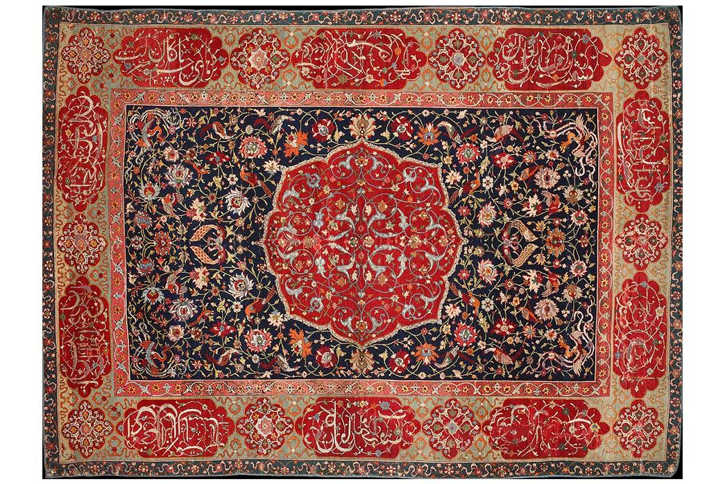 Understanding-Persian-Rugs-Safavid-Rug.-Image-via-Wikipedia.